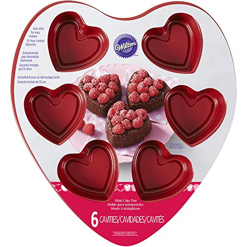 Wilton 2105-7960 Mini Heart Pan