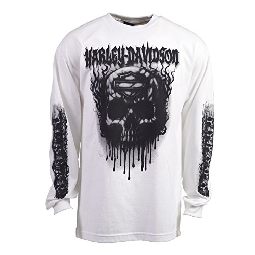 Harley Davidson Grudge Long Sleeve Tee Lemonnier