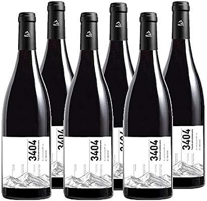 Vino tinto 3404 de 75 cl - D.O. Somontano - Bodegas Barbadillo (Pack de 6 botellas): Amazon.es: Alimentación y bebidas