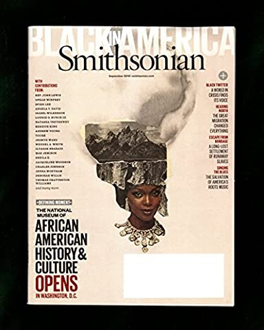 (Lorna Simpson Collage Cover -1 of 4) Smithsonian - September, 2016. Black in America. 6 Million Migration; National Museum of African American History & Culture; Ilyasah - Black History Collage
