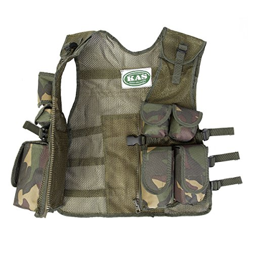 Kids Army Camouflage Combat Vest - Fits Ages 5-13 Yrs - http://coolthings.us