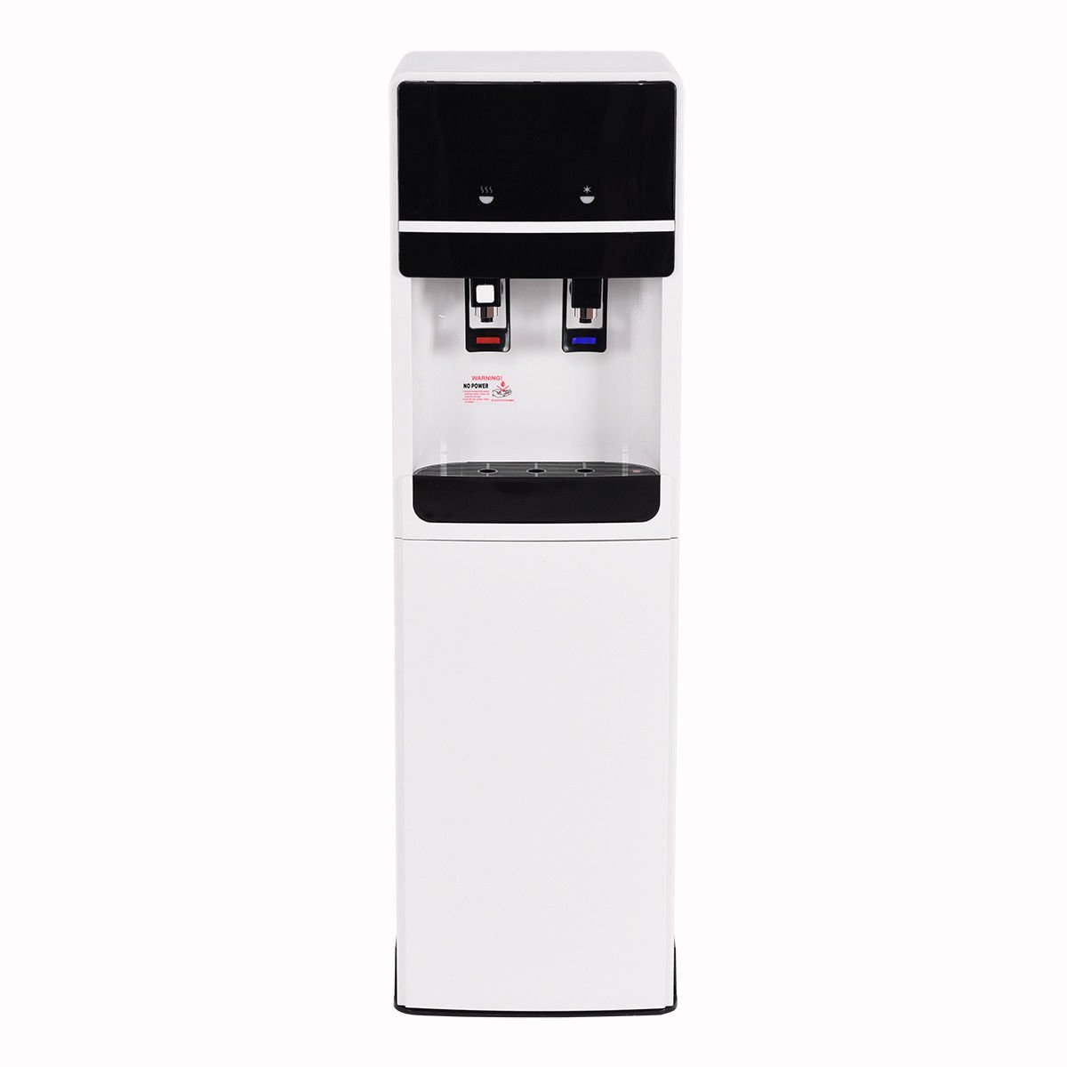 Costway Bottom Loading Water Cooler Dispenser Underlying Stainless Steel Water Cooler Dispenser Cold Hot 5 Gallon Home Office by COSTWAY (Image #3)