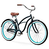 sixthreezero Women's 1-Speed 26-Inch Beach Cruiser Bicycle, Classic Dark Blue Review