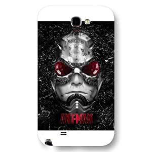 UniqueBox Customized Marvel Series Case for Samsung Galaxy Note 2, Marvel Comic Hero Ant Man Samsung Galaxy Note 2 Case, Only Fit for Samsung Galaxy Note 2 (White Frosted Case)