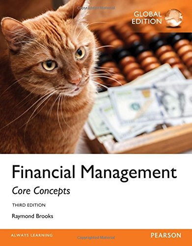Financial Management: Core Concepts by Raymond Brooks (2015-10-30)