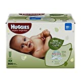 Beauty Health Personal Care Best Deals - Huggies Natural Care Baby Wipes, Refill 800 ct