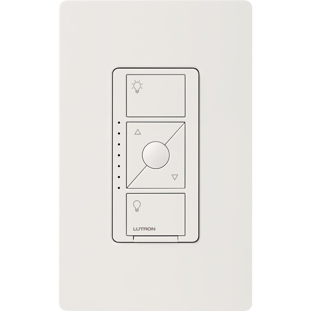 Lutron PD-5NE-WH ELV Caseta Wireless Electronic Low Voltage In-Wall Dimmer 1 Pack White by Lutron (Image #3)