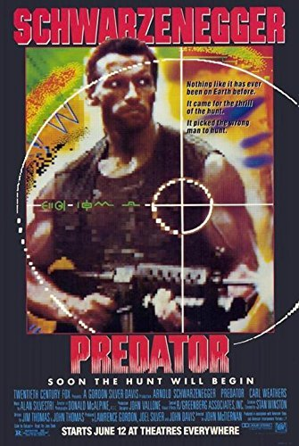 Image result for predator 1987 movie poster
