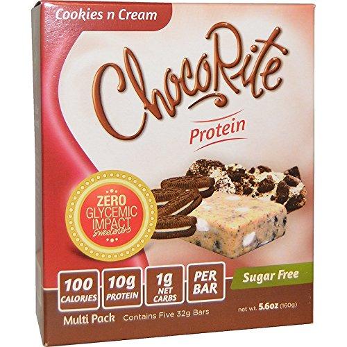 ChocoRite - Cookies & Cream Protein Bars