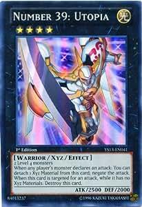 Yu-Gi-Oh! - Number 39: Utopia (YS13-EN041) - Super Starter: V for Victory - 1st Edition - Super Rare