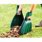 Heavy Duty Big Hands Garden Leaf Grass Collector Waste Rubbish & Litter Scoop