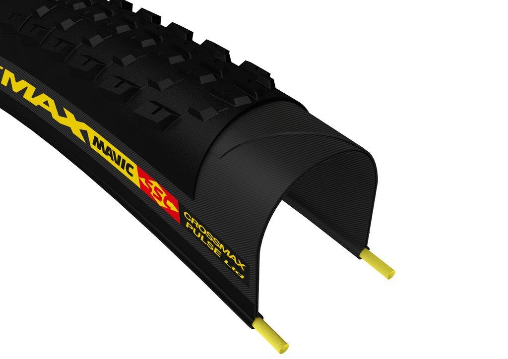 MAVIC(マヴィック) タイヤ MTB用 クロスマックス パルス Ltd 27.5×2.1 ブラック/イエロー B00XI7C6X6