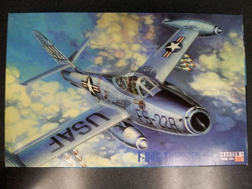 1/72 F-84G THUNDER JET Model Airplane Kit