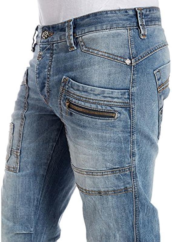 Timezone ClayTZ męskie jeansy relaksujące: Odzież