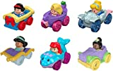 Toys : Fisher-Price Little People Disney Princess Wheelies Gift Set [Amazon Exclusive]