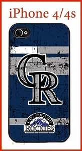 MLB Colorado Rockies iPhone 4 4s Case Hard KOKOJIA Case