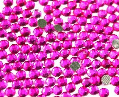 New Threadsrus 1440 Hot Fix Rhinestone Crystals - 3mm/10ss, Pink (Mazanta)