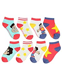 Cartoon Network Steven Universe Youth Ankle No-Show Socks 4 Pack