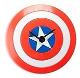 Captain America's Shield Wobble Clock