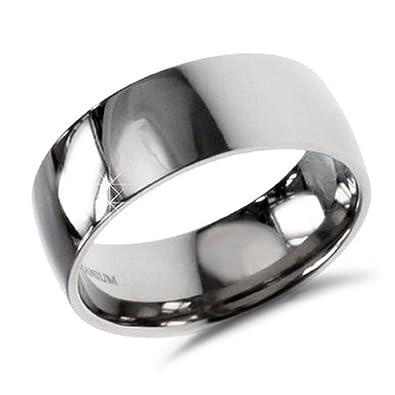 Engravable Titanium Wedding Band 9