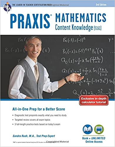 Praxis mathematics content knowledge 5161 book online praxis praxis mathematics content knowledge 5161 book online praxis teacher certification test prep third edition revised edition fandeluxe Images