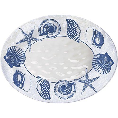 Merritt Shell Impressions 15.5-inch Melamine Platter
