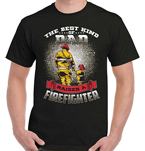 (Best Dad Father Daddy Firefighter Firemen Fire Fighter Son T Shirt Tee)