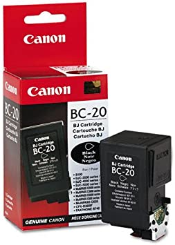 Amazon.com: Canon BC-20 cartucho de tinta negro: Office Products