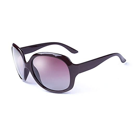 SJY Gafas de Sol Moda Marco Redondo Chicas Gafas de Sol ...