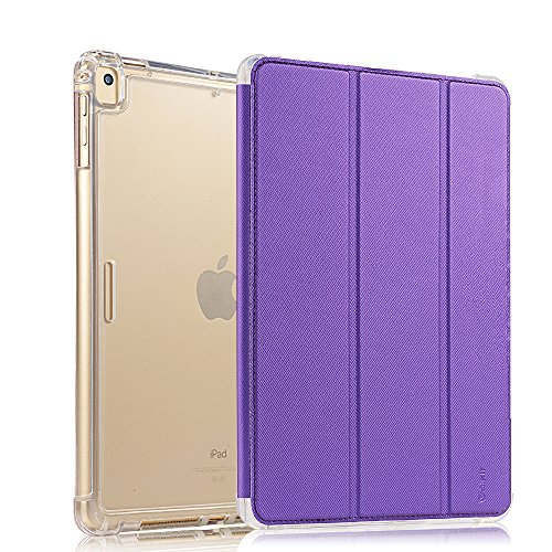Valkit For iPad mini Case, iPad mini 2 Case, iPad mini 3 Case, Shockproof Protective Smart Stand Protective Heavy Duty Rugged Impact Resistant Armor Cover, Purple