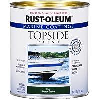 Rust-Oleum 207007 Marine Topside Paint, Deep Green, 1-Quart by Rust-Oleum