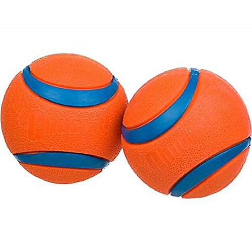 Canine Hardware Chuckit! Ultra Ball, Large, 3-Inch, 2-Pack by Chuck It