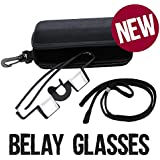 Belay Glasses for rock climbing in dark Blue