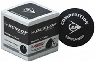 NEW Raquette de Dunlop Sport Club jouer Competition Balles de Squash-Lot de 12