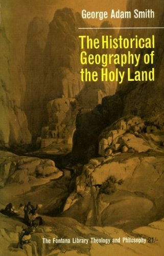 the-historical-geography-of-the-holy-land