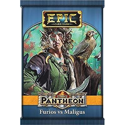 Epic Card Game Expansion: Pantheon - Furios Vs Maligus: Toys & Games