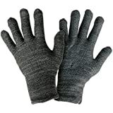 Size Extra Large - #1 Top Rated Touch Screen Gloves. Warm Smartphone Gloves with Anti-Slip Grip, Insulated Layers & Full Hand Conductivity. Winter Style Black Touch Screen Gloves Women, Touchscreen Gloves Men