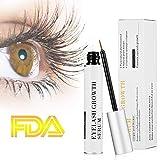 Eyelash Growth Serum for Eye Lash and Brow Non-Irritating Formula 5ml (White)