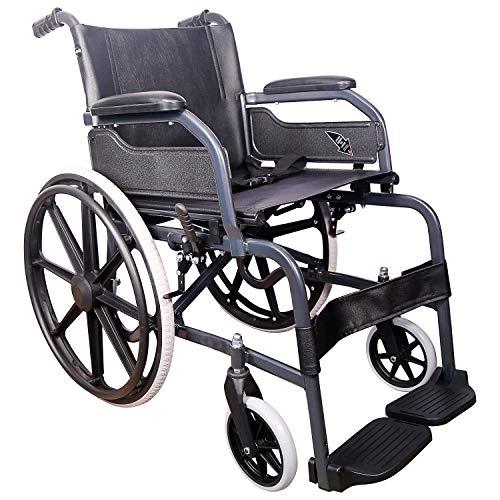KHL Wheelchair With Mag Wheels – Diamond Black