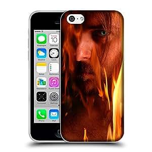 Super Galaxy Coque de Protection TPU Silicone Case pour // V00001673 demonio en llamas // Apple iPhone 5C