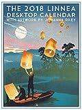 Linnea Design 2018 Desktop Calendar 5 X 7 inches Art by Johanna Riley