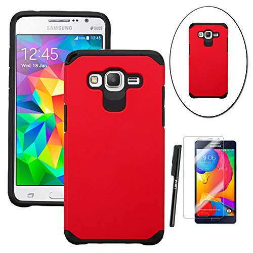 Slim Fit Protective Case for Samsung Galaxy Grand Prime G530 (Red) - 3