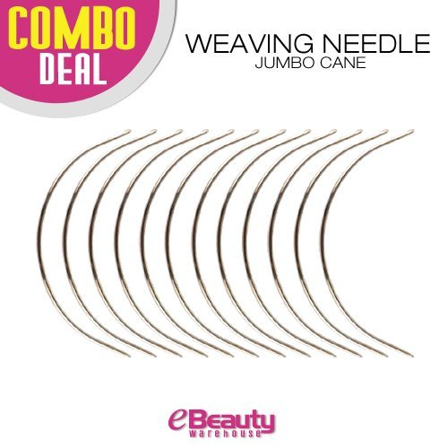 12 combo Deal Weaving Needle (Jumbo - Hair Warehouse