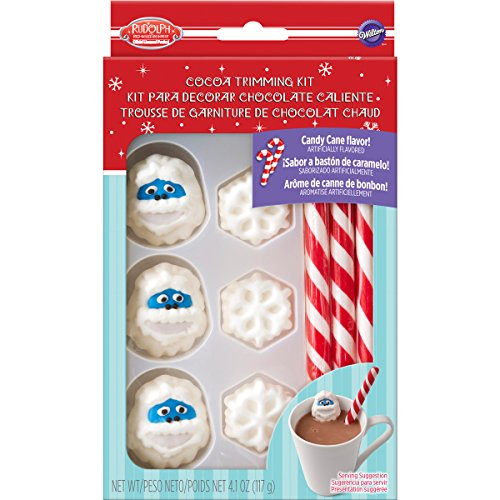 Wilton Rudolph the Red-Nosed Reindeer Hot Cocoa Trimming Kit]()