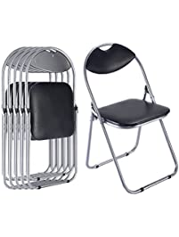 giantex folding chair 6 pc chair