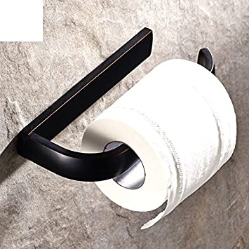Copper Paper Towel and Toilet Paper Holder