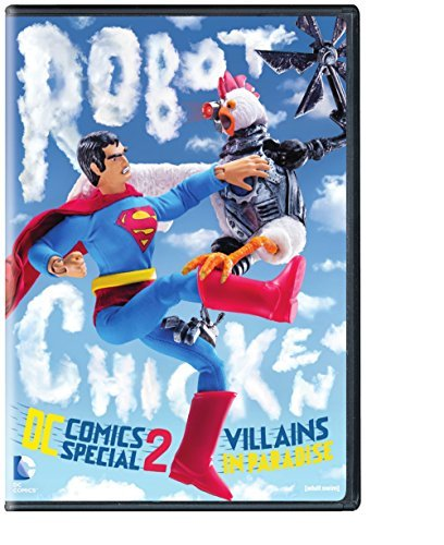 Robot Chicken Dc Comics Special 2: Villains In [DVD] [Region 1] [NTSC] [US Import]