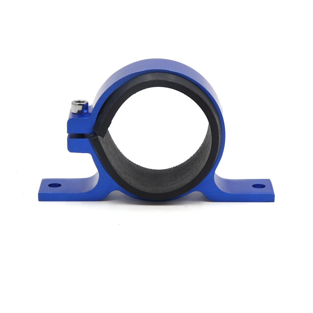 uxcell Blue Aluminum Alloy Fuel Pump Mounting Bracket Clamp Cradle for Car Automobile by uxcell (Image #1)