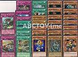 Yugioh Jurrac Dinosaur Deck Upgrade Builder 30 Cards Lot with Free Yugioh Figure