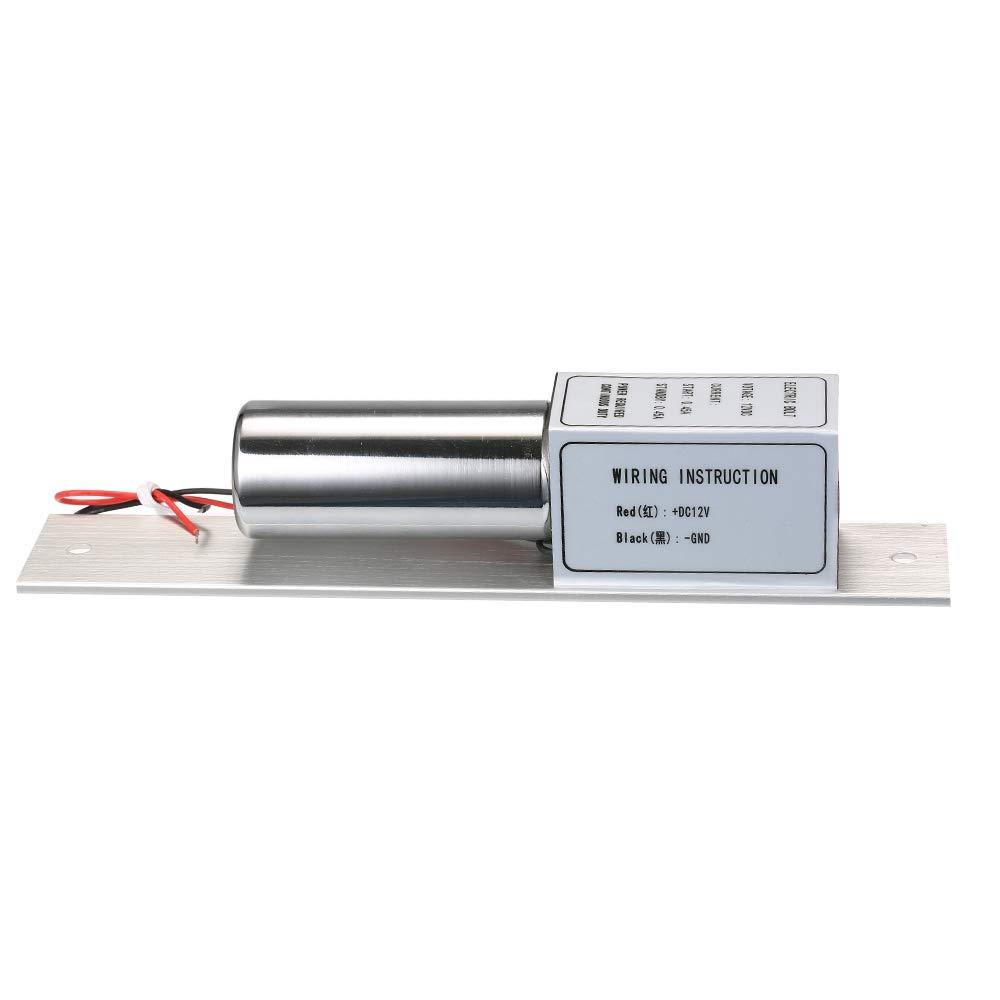 Zeit Verzögerung Ip-gesichtserkennungsgerät Elektrische Bolzen Türschloss Für Access Control Fail-safe Nc Dc12v-24v Sicherheit & Schutz